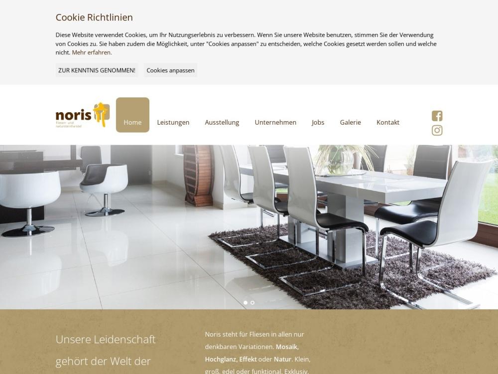 Screenshot of www.noris-fliesen.de
