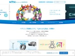 Screenshot of www.ntn.co.jp