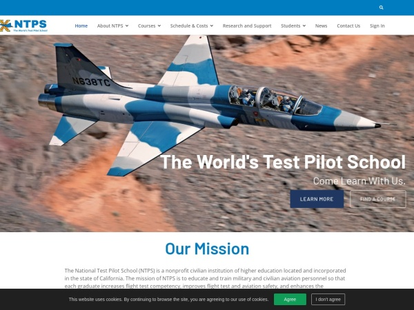 Screenshot of www.ntps.edu
