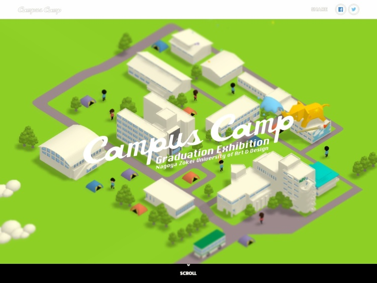 Campus Camp   名古屋造形大学卒展   大学院修了展