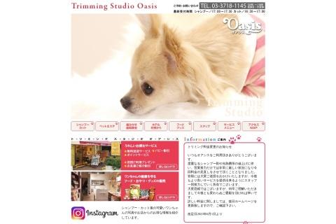 Screenshot of www.oasis-dog.jp