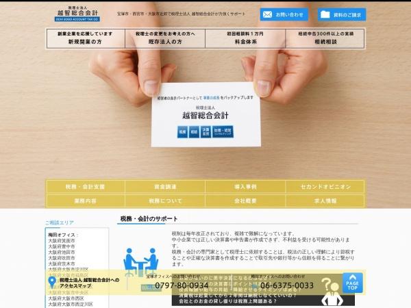 Screenshot of www.ochi-tax.com