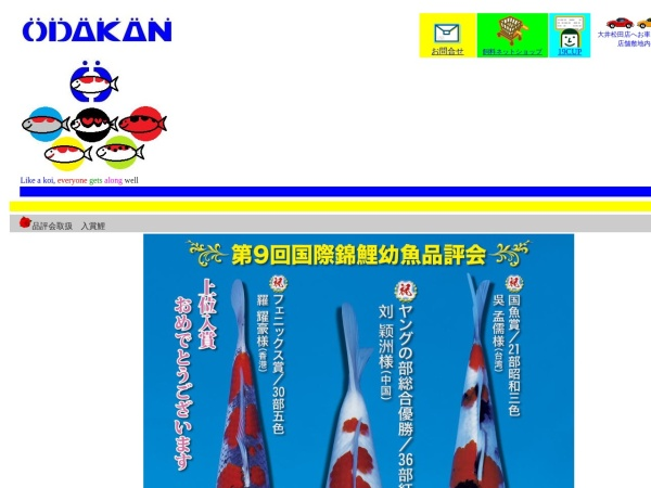 Screenshot of www.odakan.com