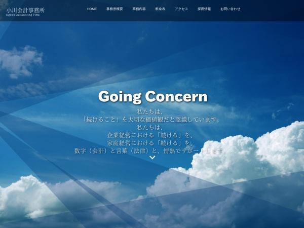 Screenshot of www.ogawa-af.jp
