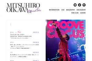 Screenshot of www.oikawa-mitsuhiro.com