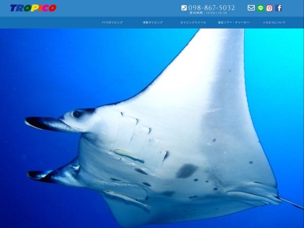 Screenshot of www.okinawa-tropico.com