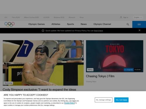 http://www.olympic.org