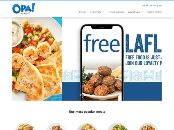 Screenshot of www.opasouvlaki.ca