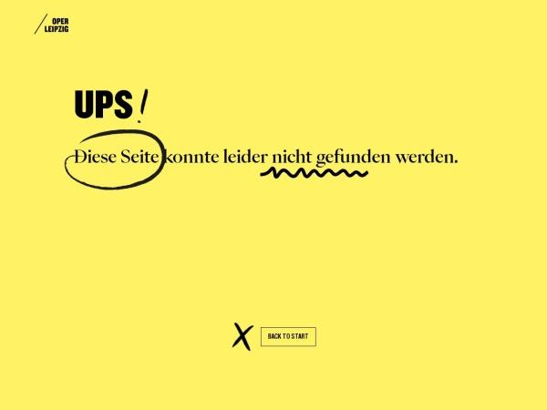 Screenshot of www.oper-leipzig.de