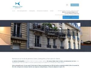 Jérémie Cohen Ostéopathe à Paris dans le 16ème