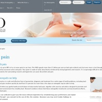 Screenshot of www.osteopathy.org