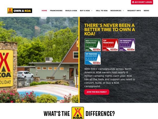 Screenshot of www.ownakoa.com