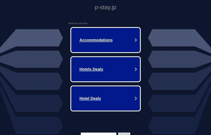 Screenshot of www.p-stay.jp