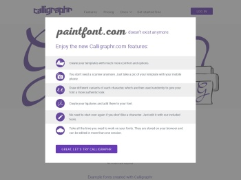 http://www.paintfont.com/