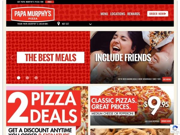 Screenshot of www.papamurphys.ca