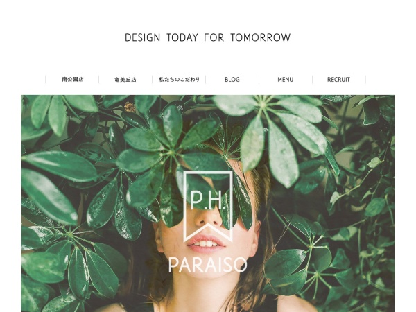 Screenshot of www.paraiso-jp.com