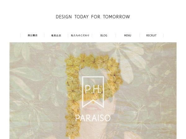 Screenshot of www.paraiso-jp.com