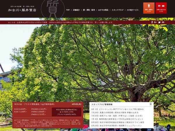 Screenshot of www.pawn-fujii.jp