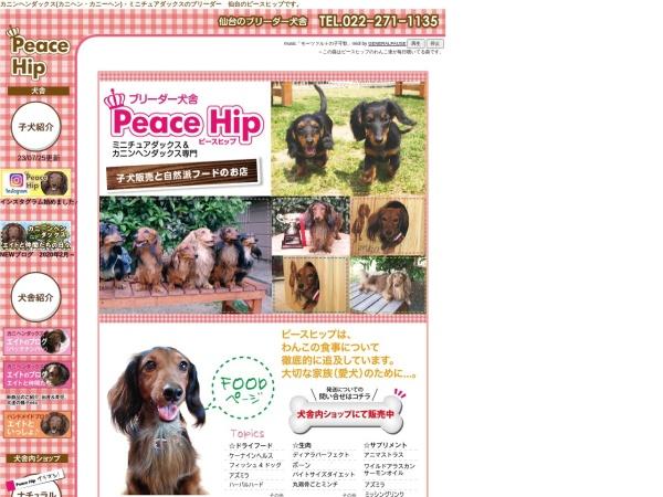 Screenshot of www.peace-hip.com