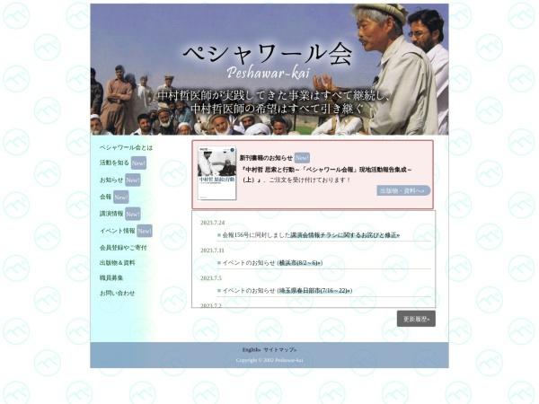 Screenshot of www.peshawar-pms.com