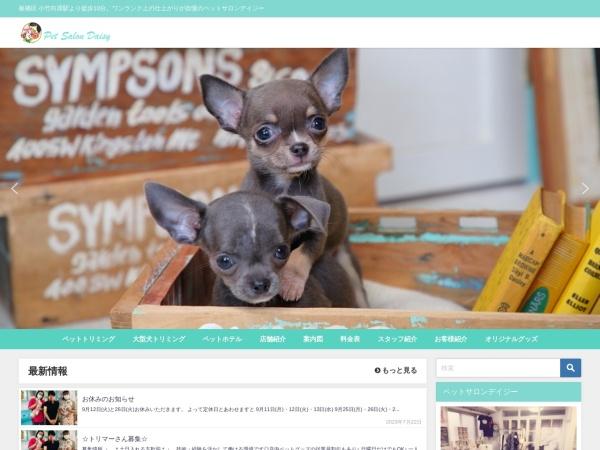 Screenshot of www.pet-daisy.com