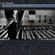 Screenshot von www.peterfrisee.com