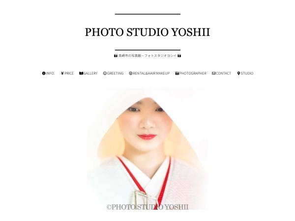 Screenshot of www.photo-yoshii.com