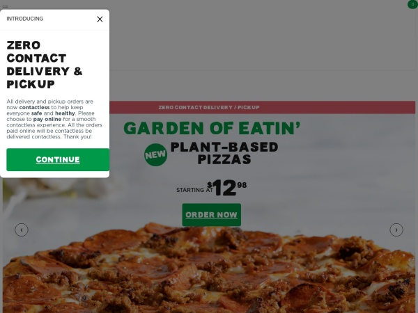 Screenshot of www.pizzaiolo.ca