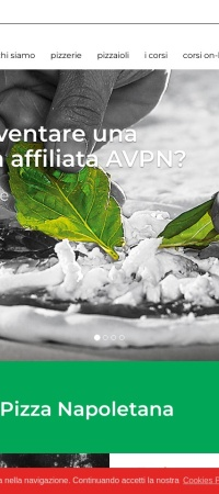 Screenshot of www.pizzanapoletana.org