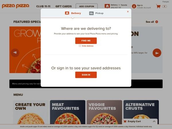 http://www.pizzapizza.ca/