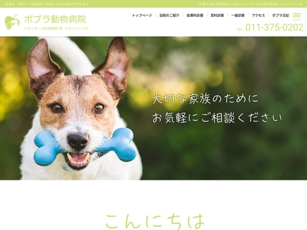 Screenshot of www.poplar-ah.com