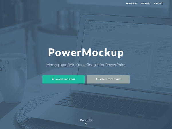 Screenshot of www.powermockup.com