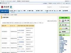 占用許可基準(高知県)