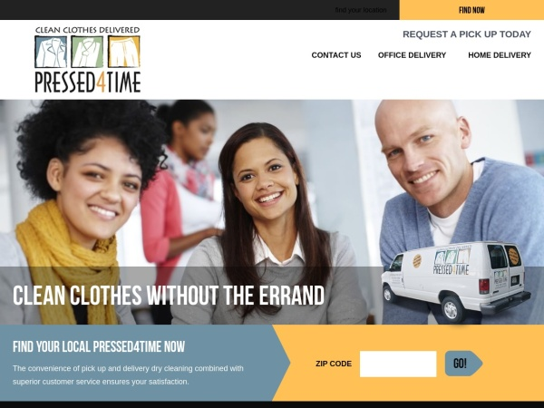 Screenshot of www.pressed4time.com