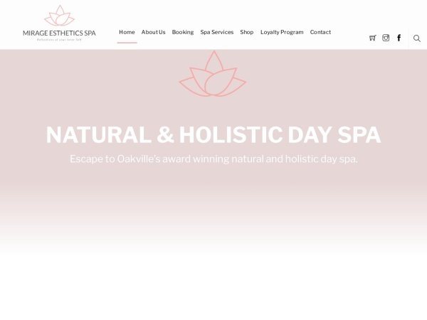 Screenshot of www.prettyinpinkspa.com