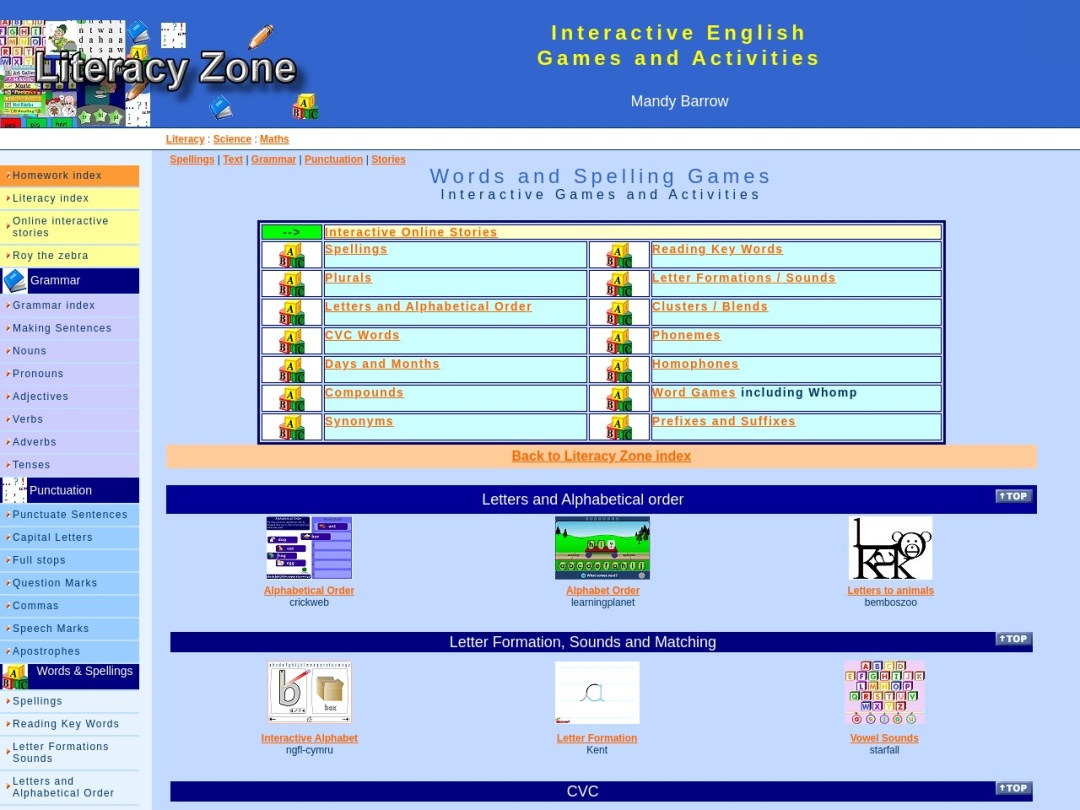 Screenshot of www.primaryhomeworkhelp.co.uk