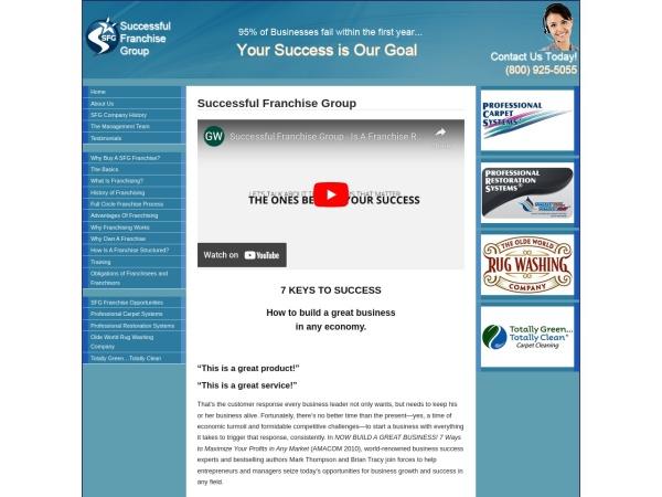 Screenshot of www.procarpetsys.com