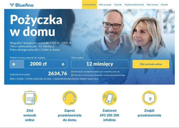 Screenshot of www.profi-net.pl