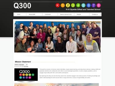 Screenshot of www.ps300q.org
