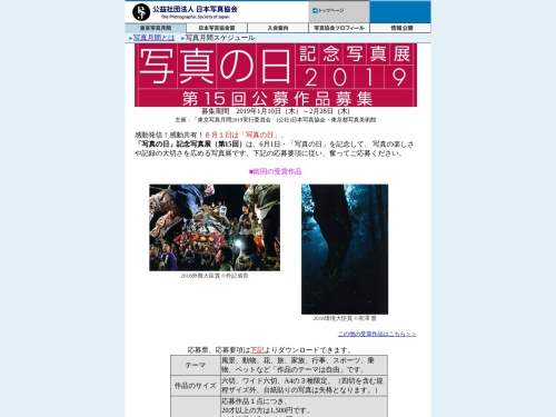 Screenshot of www.psj.or.jp