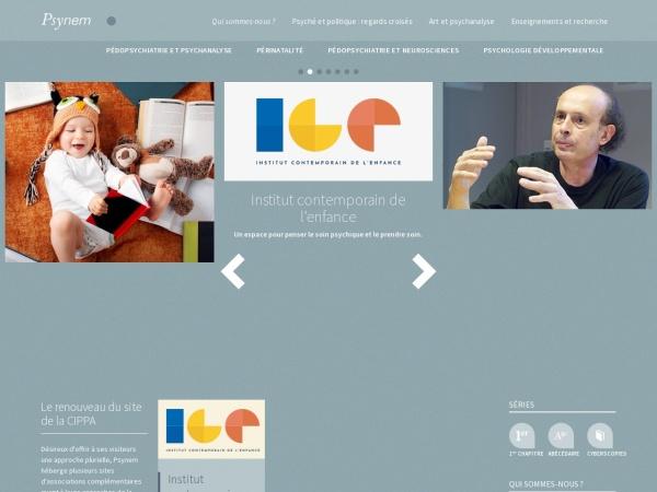 Screenshot of www.psynem.org