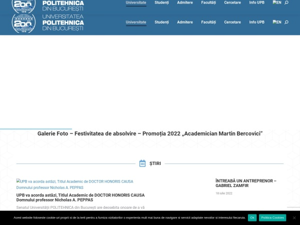 Screenshot of www.pub.ro
