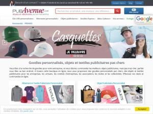 Pubavenue, objets et vêtements publicitaires
