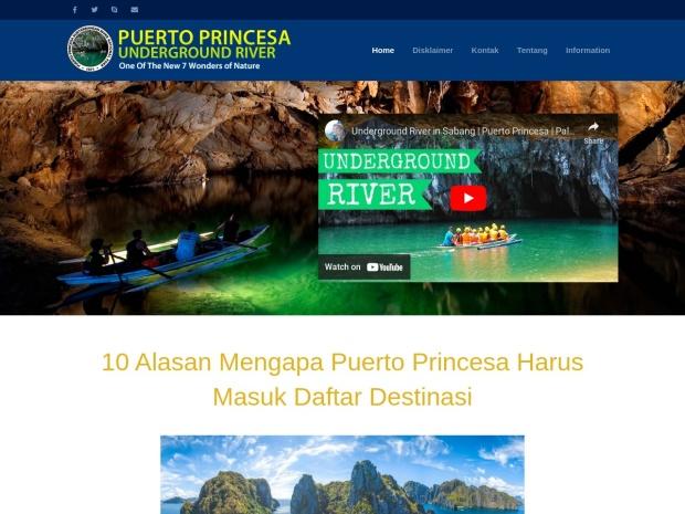 http://www.puerto-undergroundriver.com/