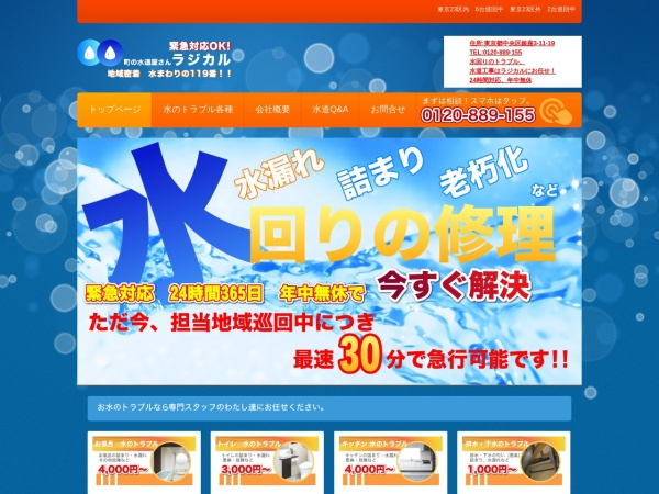 Screenshot of www.radical24.jp