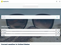 Screenshot of www.raintoday.co.uk