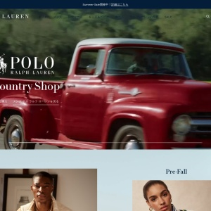 Screenshot of www.ralphlauren.co.jp