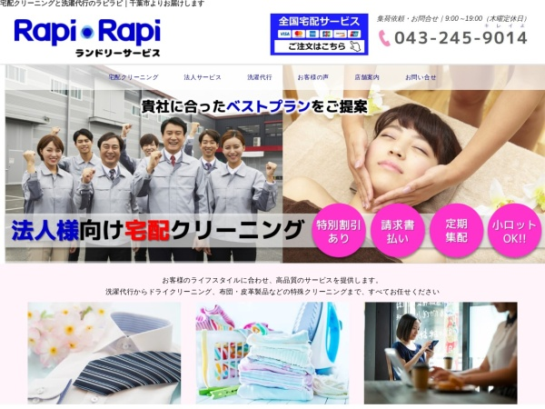 Screenshot of www.rapi-rapi.com