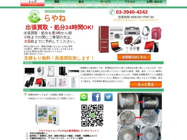 Screenshot of www.rayaneh1.com