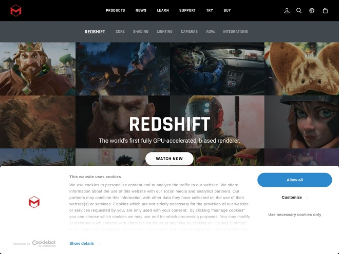 http://www.redshift3d.com/